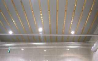 Реечный потолок: особенности материала и его монтажа