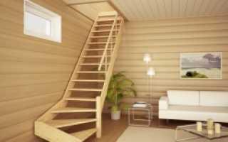 Особенности конструкции маршевых лестниц