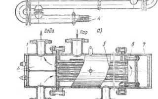 Схема системы отопления, ГВС и ХВС