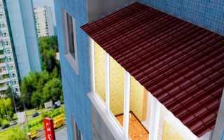 Если крыша балкона протекает: что делать, куда обращаться?