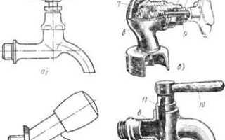 Подключение запорно-регулирующей и водоразборной арматуры