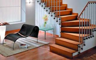 Чем отделать ступени лестницы