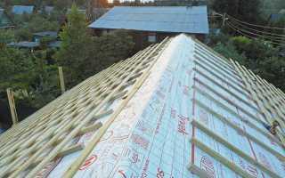 Утепление и вентиляция крыши