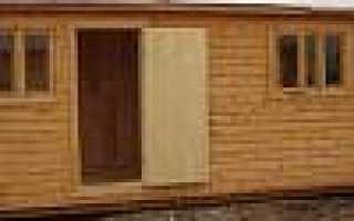Бытовки дачные цена на временное жилье из профилированного бруса