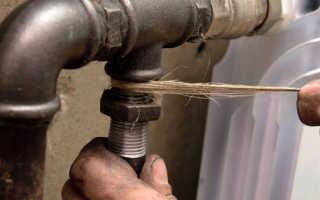 Особенности монтажа металлических трубопроводов