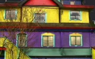 Наружная окраска фасадов
