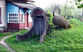 Как построить погреб в условиях с высоким залеганием грунтовых вод