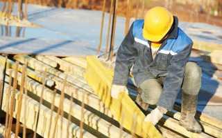 На каком этапе лучше делать перерыв строительства дома зимой?