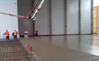 Устройство промышленных полов: какой материал лучше выбрать и порядок работ при бетонировании поверхности с укрепительными смесями