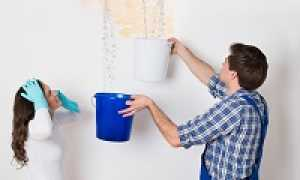 Сроки устранения протечек крыши управляющей компанией