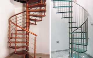 Формы лестниц.