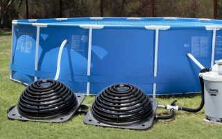 Как нагреть воду в бассейне на даче: основные решения
