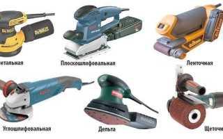 Ручные электрические шлифовальные машины.