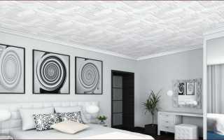 Потолочная плитка – пошаговая инструкция по установке с фото