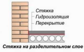 Какую же делать цементную стяжку?