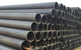 Трубы из тонкостенной стали