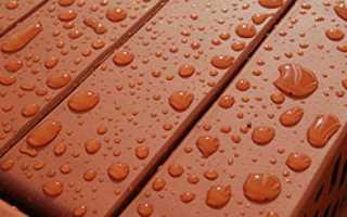 Гидроизоляция стен с кирпичной облицовкой