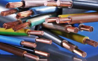 Выбор сечения кабеля. Полный расчет сечения проводов и кабелей по току, мощности