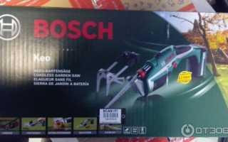 Сабельная электропила Bosch Keo