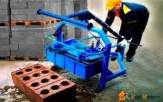 Вибростанок для бетона из лобзика