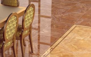 Укладка неглазурованной плитки на пол