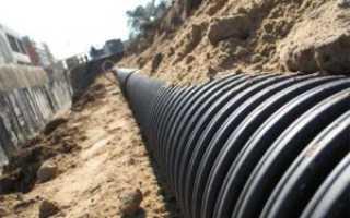 Общие требования к сети канализации