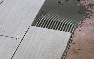 Укладываем керамический гранит