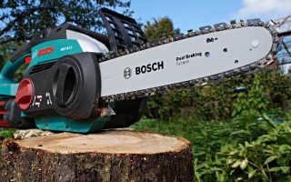 Электрическая цепная пила Bosch AKE 30 LI