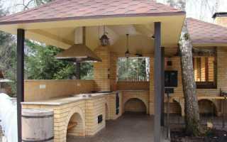 Реконструкция крыши летней кухни и навеса веранды