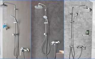 Душевая лейка с краном: конструкция, монтаж, советы по выбору