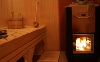 Пожаробезопасность бани: защита стен