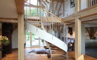 Особенности маршевых и винтовых лестниц