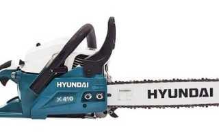 Бензопила Hyundai X360: особенности, характеристики