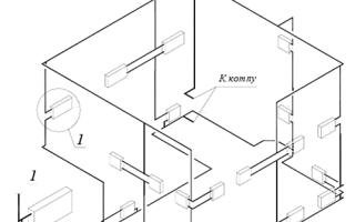 Двухтрубная система водяного отопления с верхней разводкой