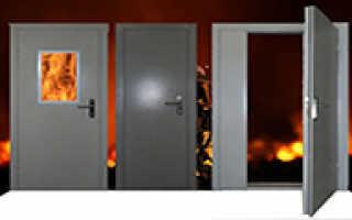 Что нужно знать, если вы хотите купить противопожарные двери?