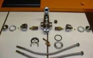 Какие запчасти для смесителей необходимы для ремонта?