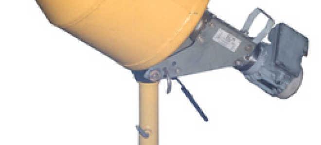 Усовершенствование бетоносмесителя БСМ-25