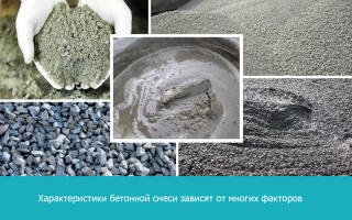 История бетона, его марки и виды, свойства бетонов.