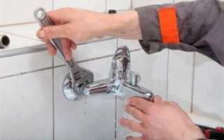 Замена смесителя в ванной комнате