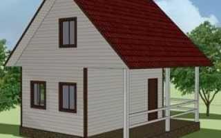 Небольшой и недорогой дом