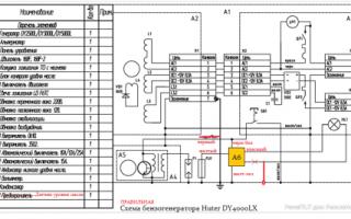 Бензиновый генератор HUTER DY6500LX – особенности, характеристики, инструкция, отзывы